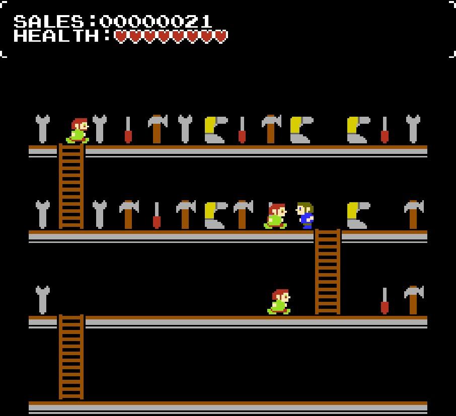Editor NESmaker vám umožní vytvářet vlastní 8bitové hry » Vortex